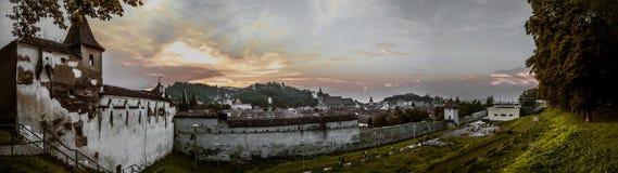 Rothenburg ist lokalisiertes mittleres Franconia im Bayern, Deutschland, das für seine well-preserved mittelalterliche alte Stadt Lizenzfreies Stockfoto