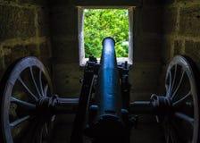 Rothenburg-Kanone Stockbild