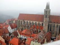 rothenburg kirche jackobs Стоковое фото RF