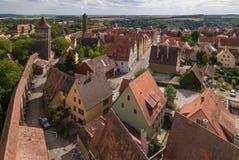 Rothenburg miasto Zdjęcia Stock