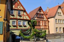 Rothenburg ob der陶伯,德国 免版税库存照片