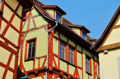 Rothenburg ob der陶伯,德国 库存照片