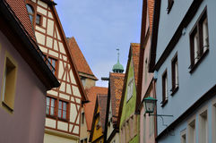 Rothenburg ob der陶伯,德国 库存图片