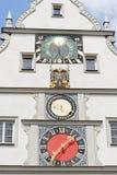 Rothenburg ob der Tauber,巴伐利亚,德国 免版税库存图片