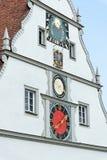 Rothenburg ob der Tauber,巴伐利亚,德国 库存图片