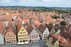 Rothenburg ob der Tauber, επισκόπηση 10 Στοκ Φωτογραφία