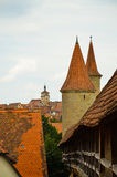 Rothenburg ob der Tauber, επισκόπηση 3 Στοκ Φωτογραφίες