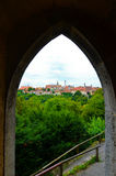 Rothenburg ob der Tauber, επισκόπηση 4 Στοκ φωτογραφίες με δικαίωμα ελεύθερης χρήσης