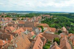 Rothenburg ob der Tauber, επισκόπηση 6 Στοκ εικόνες με δικαίωμα ελεύθερης χρήσης