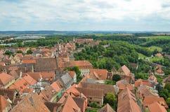 Rothenburg ob der Tauber, επισκόπηση 8 Στοκ εικόνα με δικαίωμα ελεύθερης χρήσης