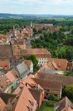 Rothenburg ob der Tauber, επισκόπηση 9 Στοκ Εικόνα