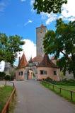 Rothenburg ob der Tauber, η πύλη 1 κάστρων Στοκ φωτογραφίες με δικαίωμα ελεύθερης χρήσης