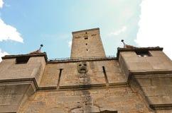 Rothenburg ob der Tauber, η πύλη 3 κάστρων Στοκ Φωτογραφίες