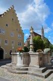 Rothenburg ob der Tauber, πηγή 1 Στοκ Φωτογραφίες
