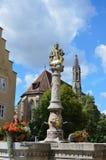 Rothenburg ob der Tauber, πηγή 2 Στοκ εικόνα με δικαίωμα ελεύθερης χρήσης