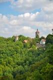 Rothenburg ob der Tauber, πύργοι 1 όψης Στοκ Εικόνες