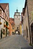 Rothenburg ob der Tauber, πύργος Στοκ Εικόνες