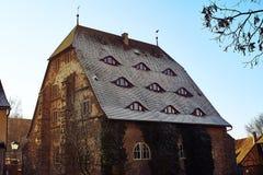 Rothenburg ob der Tauber στο christmastime στοκ εικόνες