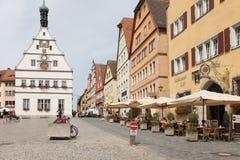 Rothenburg ob der Tauber Lizenzfreies Stockbild