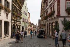 Rothenburg ob der Tauber Stockfotografie