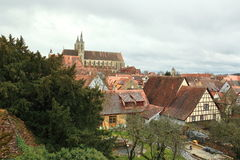 Rothenburg-ob der Tauber Lizenzfreie Stockfotos