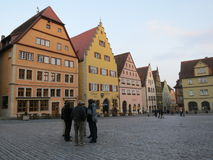 Rothenburg ob der Tauber stockbild