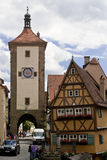 Rothenburg ob der tauber Stock Images