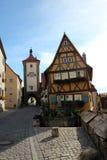 Rothenburg ob der Tauber Stock Image