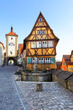 Rothenburg-ob der Tauber Stockbilder