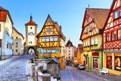 Rothenburg-ob der Tauber Lizenzfreies Stockfoto