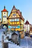 Rothenburg-ob der Tauber Lizenzfreie Stockbilder