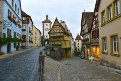 Rothenburg-ob der tauber lizenzfreies stockbild