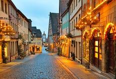 Rothenburg ob der Tauber Stockbild