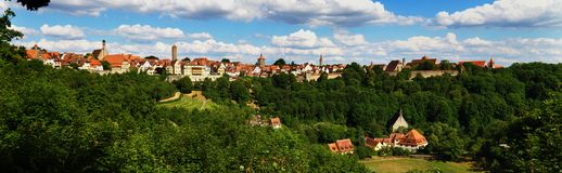 Rothenburg ob der Tauber Stock Afbeelding