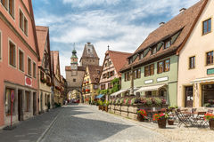 Rothenburg ob der Tauber Stockfotos