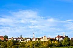 Rothenburg-ob der Tauber, alte berühmte Stadt von den mittelalterlichen Zeiten Lizenzfreie Stockfotografie