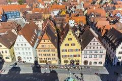 Rothenburg ob der Tauber, Bavaria, Germany Royalty Free Stock Photo