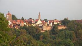 Rothenburg ob der Tauber, Bavaria, Germany Royalty Free Stock Photos