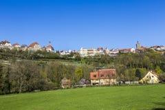 Rothenburg ob der Tauber, Bavaria, Germany Stock Photography