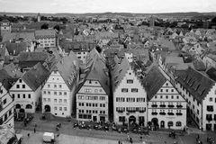 Rothenburg ob der Tauber, Bavaria, Germany Stock Image