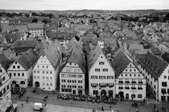 Rothenburg ob der Tauber, Bavaria, Germany Stock Image