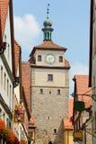 Rothenburg ob der Tauber, Bavaria, Germany. Royalty Free Stock Images