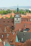 Rothenburg ob der Tauber, Bayern, Deutschland Stockfotografie