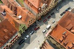 Rothenburg ob der Tauber, Bayern, Deutschland Lizenzfreies Stockfoto