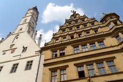Rothenburg ob der Tauber, Bayern, Deutschland Stockbild