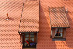 Rothenburg ob der Tauber, Bayern, Deutschland Lizenzfreie Stockbilder