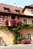Rothenburg ob der Tauber, Beieren, Duitsland Stock Foto