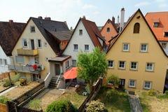 Rothenburg ob der Tauber, Beieren, Duitsland Stock Afbeelding