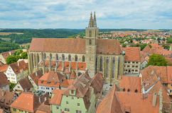 Rothenburg ob der Tauber, Church of St. James Royalty Free Stock Photos