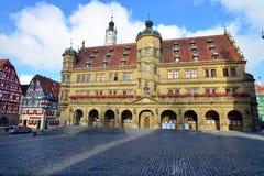 Rothenburg ob der Tauber, Deutschland Lizenzfreies Stockbild